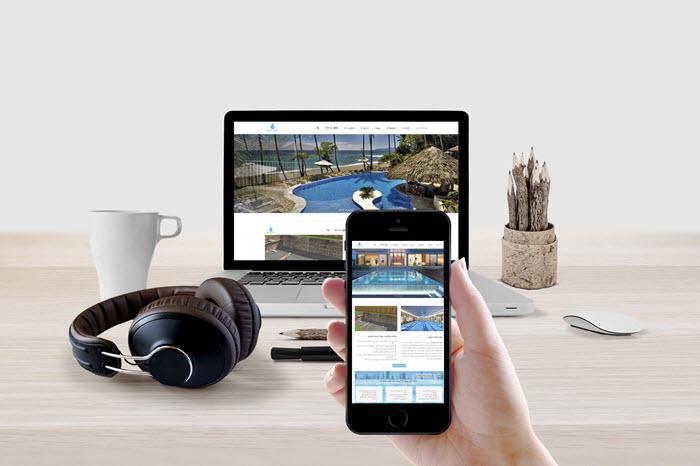 طراحی سایت شرکتی رویال استخر